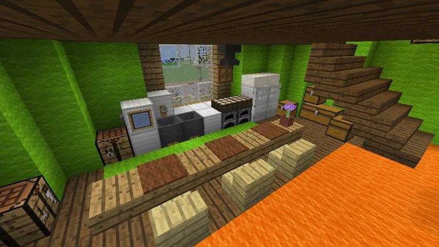 Minecrafterししゃもがマインクラフトでぷっこ村に小さなヘムルの家を建築してみる9