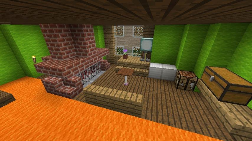 Minecrafterししゃもがマインクラフトでぷっこ村に小さなヘムルの家を建築してみる10