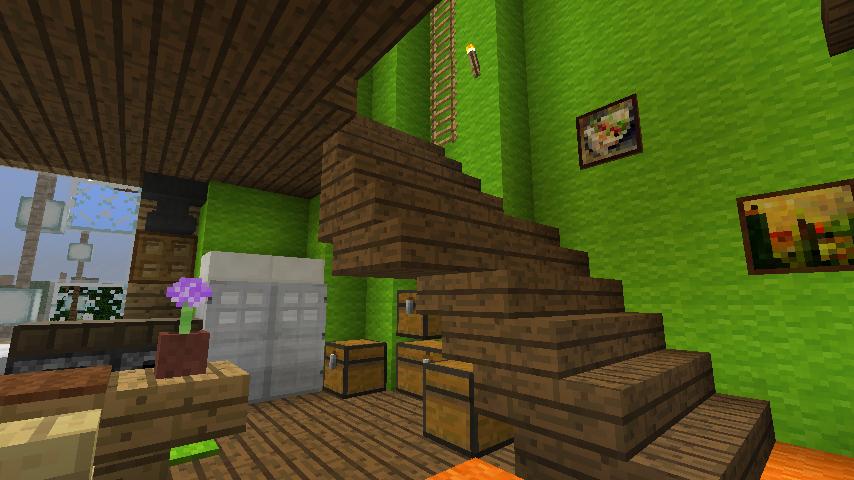 Minecrafterししゃもがマインクラフトでぷっこ村に小さなヘムルの家を建築してみる11