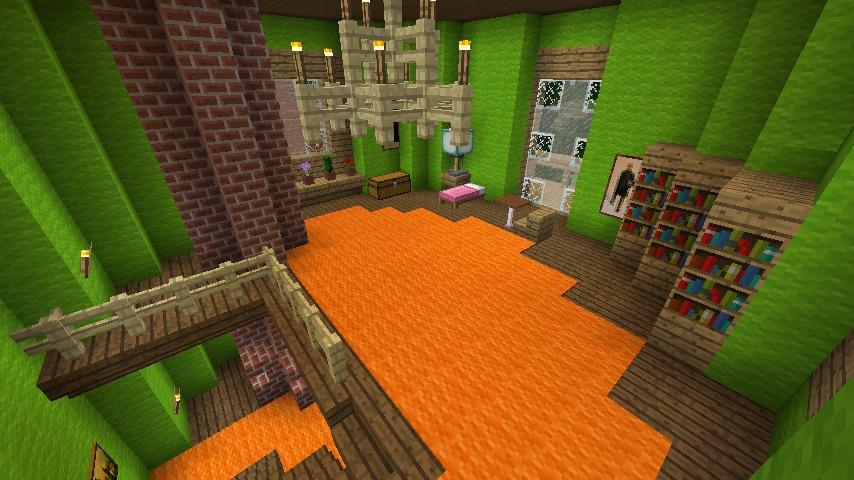 Minecrafterししゃもがマインクラフトでぷっこ村に小さなヘムルの家を建築してみる12