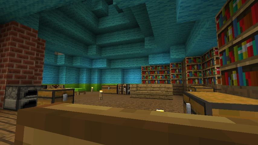 Minecrafterししゃもがマインクラフトでぷっこ村に小さなヘムルの家を建築してみる14