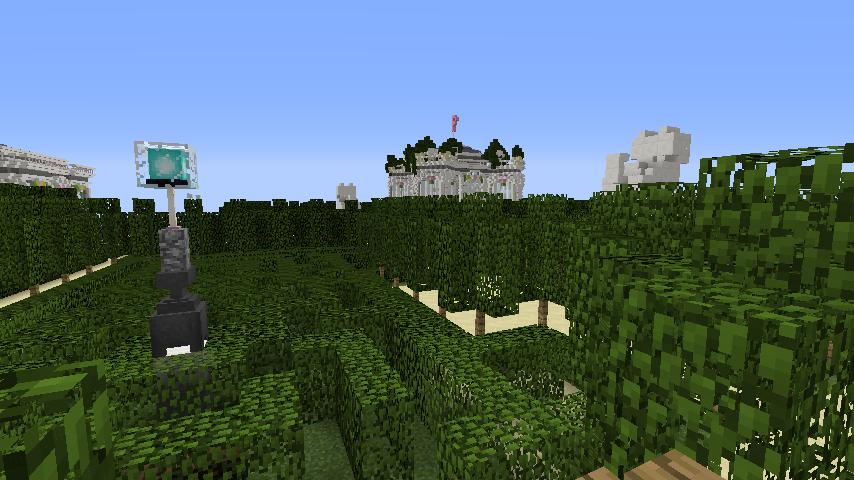 Minecrafterししゃもがマインクラフトでぷっこ村にベルサイユっぽい庭園の東側を作っていく話5