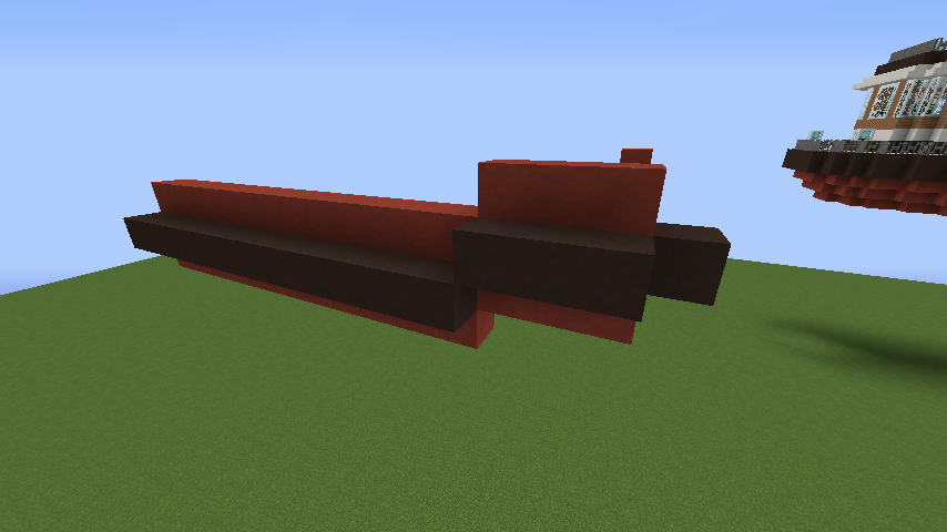 Minecrafterししゃもが1.14.4に引っ越しして真っ赤な観光船を作ってみる2