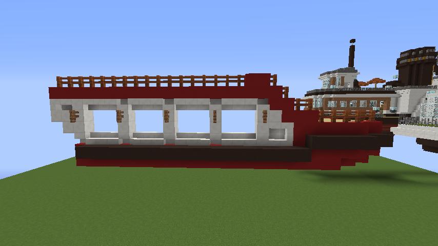 Minecrafterししゃもが1.14.4に引っ越しして真っ赤な観光船を作ってみる3