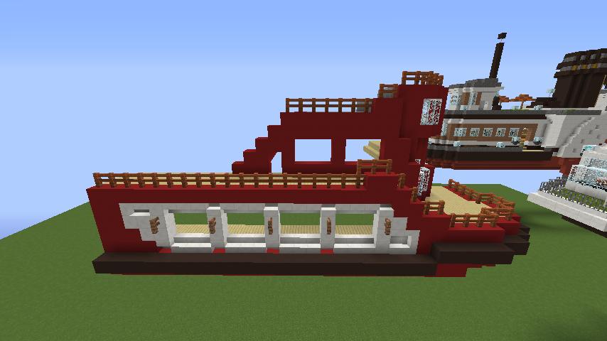 Minecrafterししゃもが1.14.4に引っ越しして真っ赤な観光船を作ってみる5