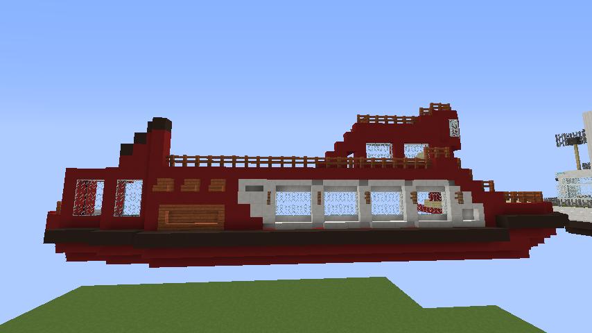 Minecrafterししゃもが1.14.4に引っ越しして真っ赤な観光船を作ってみる6