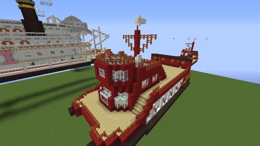 Minecrafterししゃもが1.14.4に引っ越しして真っ赤な観光船を作ってみる7
