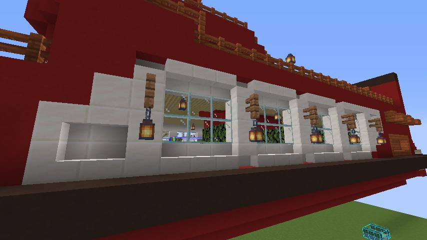 Minecrafterししゃもが1.14.4に引っ越しして真っ赤な観光船を作ってみる11