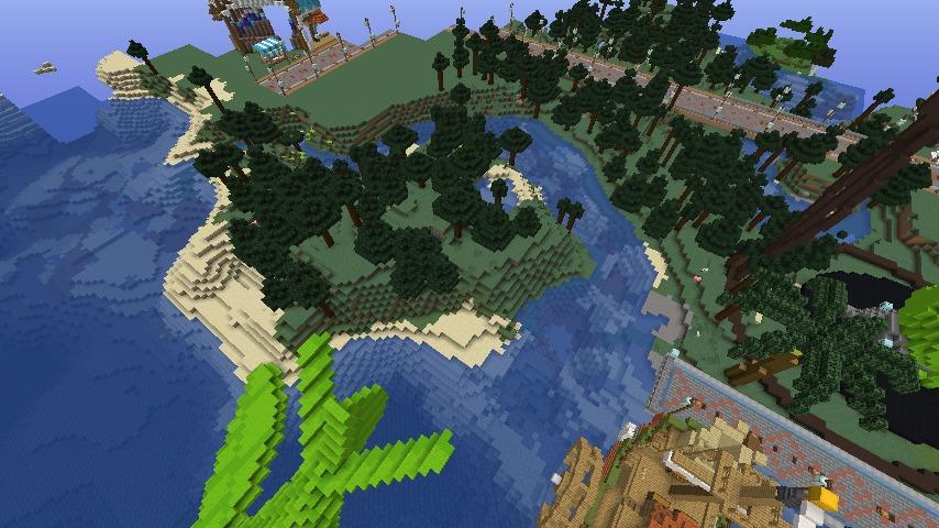 Minecrafterししゃもがマインクラフトでぷっこ村にぷりんこ号を建築するよ2