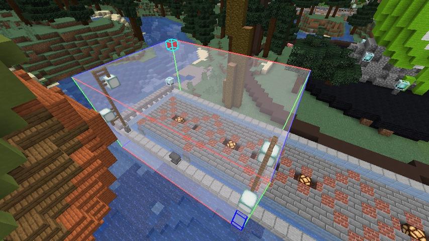 Minecrafterししゃもがマインクラフトでぷっこ村にぷりんこ号を建築するよ3