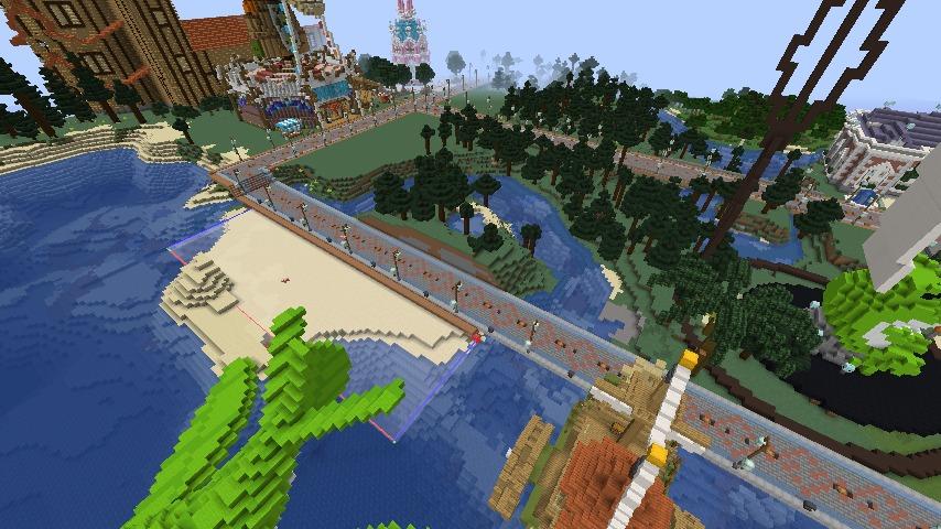 Minecrafterししゃもがマインクラフトでぷっこ村にぷりんこ号を建築するよ4