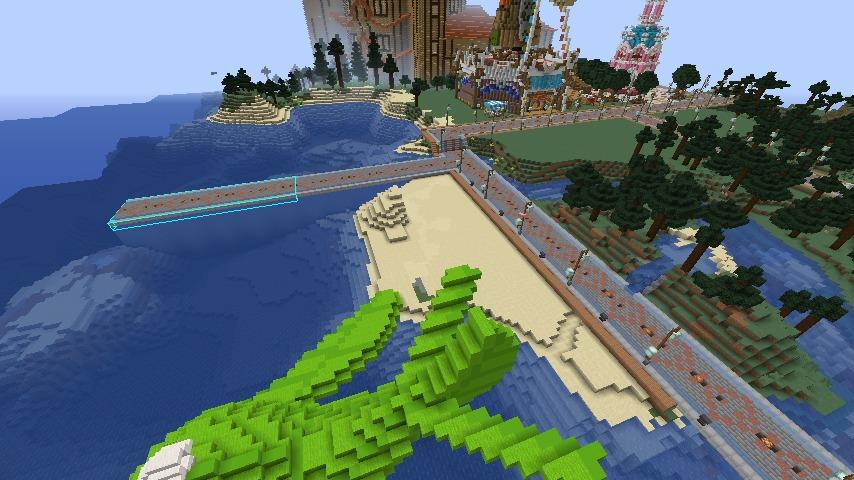 Minecrafterししゃもがマインクラフトでぷっこ村にぷりんこ号を建築するよ5