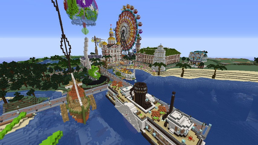 Minecrafterししゃもがマインクラフトでぷっこ村にぷりんこ号を建築するよ1
