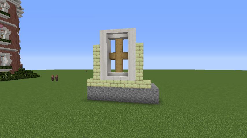 Minecrafterししゃもがマインクラフトでぷっこ村にガーデンスケイプな庭師のお屋敷を建築する1