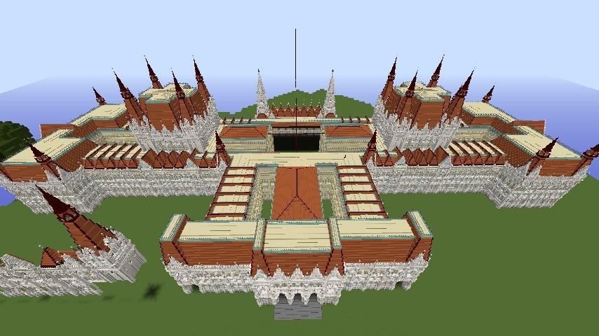 大規模建築の限界か!?ぷっ会議事堂に見るぷっこ村建築の歴史2