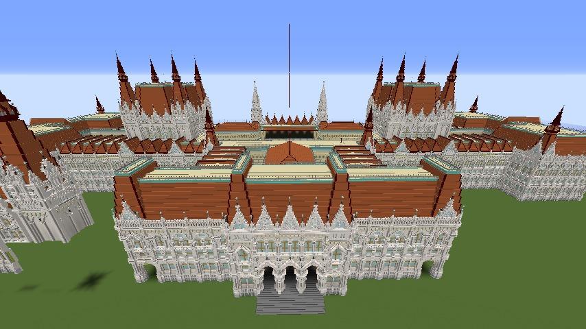 大規模建築の限界か!?ぷっ会議事堂に見るぷっこ村建築の歴史4
