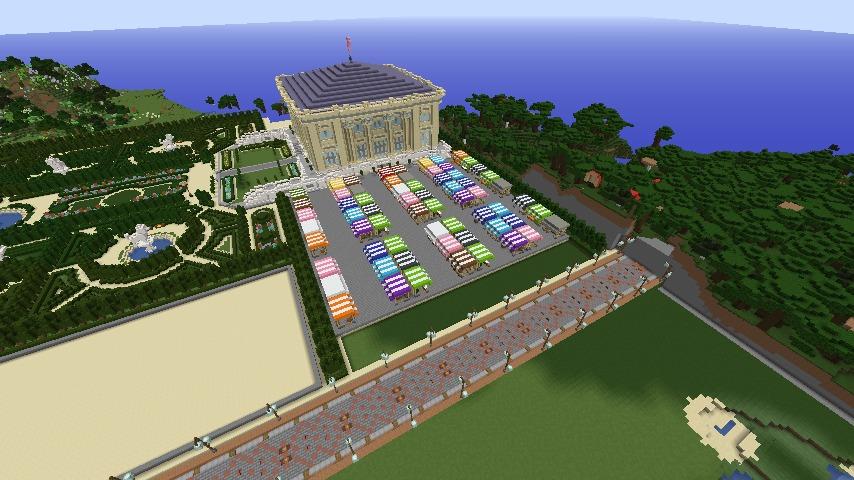 ベルサイユな庭園をぷっこ村に移築してみる5