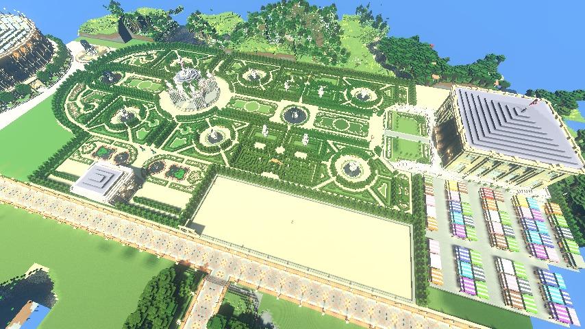 ベルサイユな庭園をぷっこ村に移築してみる7