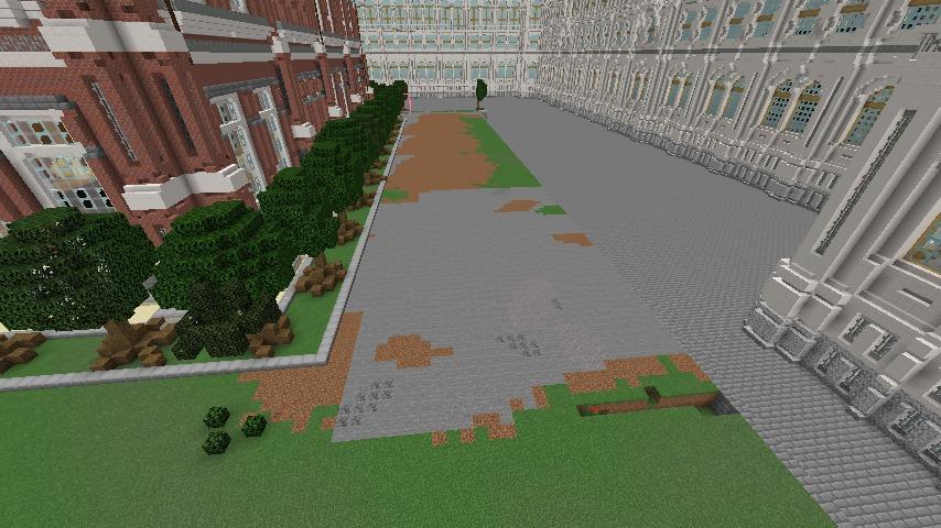 Minecrafterししゃもがマインクラフトでぷっこ村に建てた別荘が爆破される9