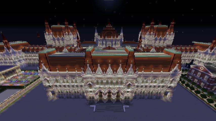 ぷっ会議事堂をぷっこ村に移築してみた2