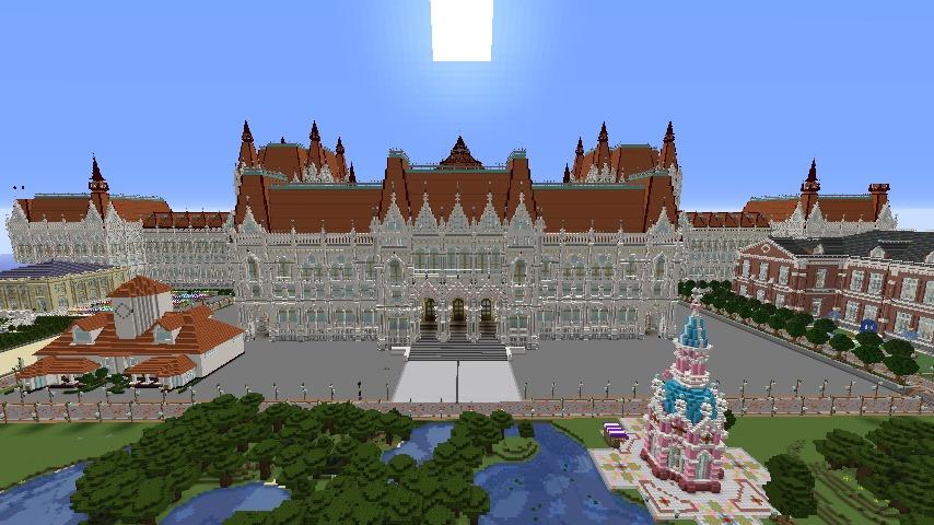 Minecrafterししゃもがマインクラフトでぷっこ村に建てた別荘が爆破される1