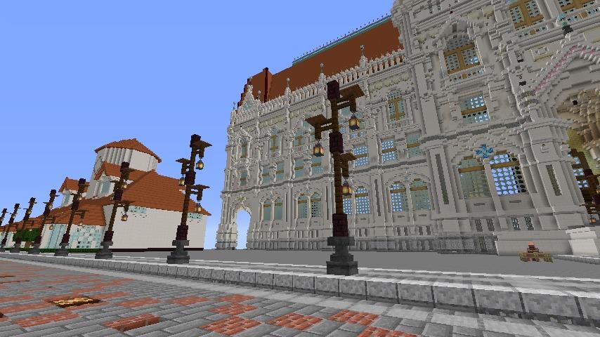 Minecrafterししゃもがマインクラフトでぷっこ村の街灯がダサすぎる問題を解決する7