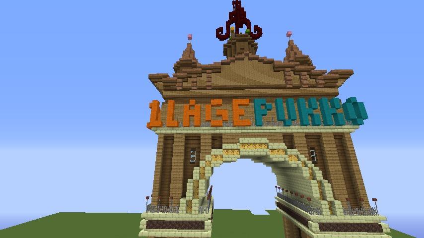 Minecrafterししゃもがマインクラフトでぷっこ村に、グラビティデイズをモデルにしたファンタジーな空中都市を建築する10