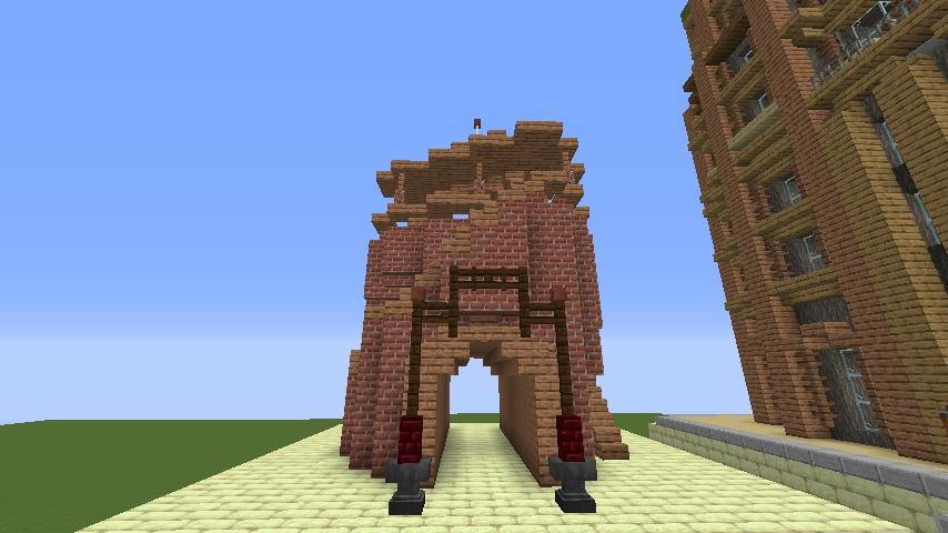 Minecrafterししゃもがマインクラフトでぷっこ村にグラビティデイズな公園を作る1