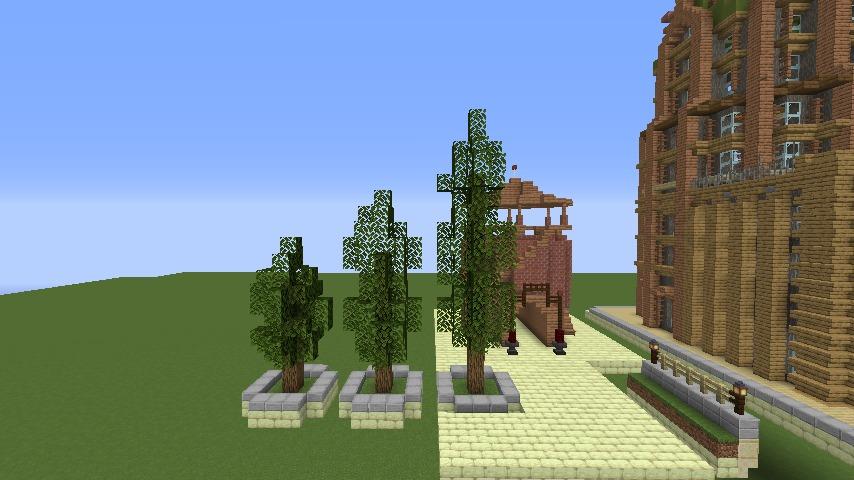 Minecrafterししゃもがマインクラフトでぷっこ村にグラビティデイズな公園を作る3