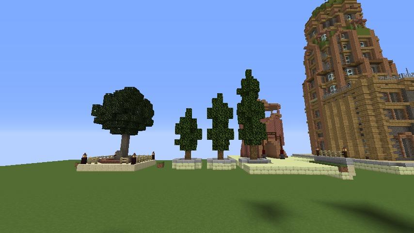 Minecrafterししゃもがマインクラフトでぷっこ村にグラビティデイズな公園を作る4
