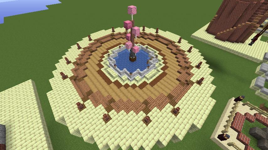 Minecrafterししゃもがマインクラフトでぷっこ村にグラビティデイズな公園を作る5