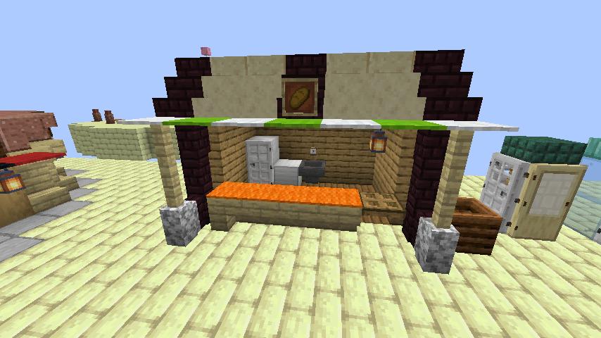 Minecrafterししゃもがマインクラフトでぷっこ村にグラビティデイズな公園を作る8