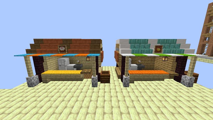 Minecrafterししゃもがマインクラフトでぷっこ村にグラビティデイズな公園を作る9
