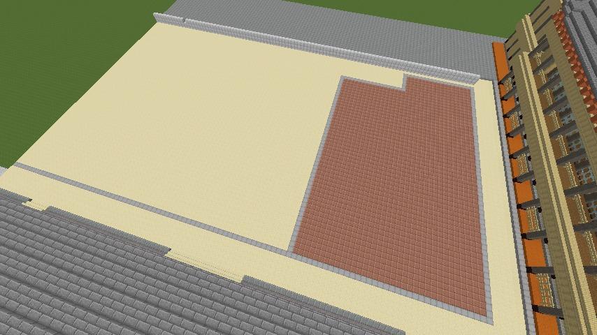 Minecrafterししゃもがマインクラフトで焼失した首里城の黄金御殿、寄満、近習詰所をぷっこ村に再建する2
