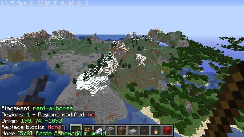 Minecrafterししゃもがマインクラフトで再建した首里城をぷっこ村に移築してみる3