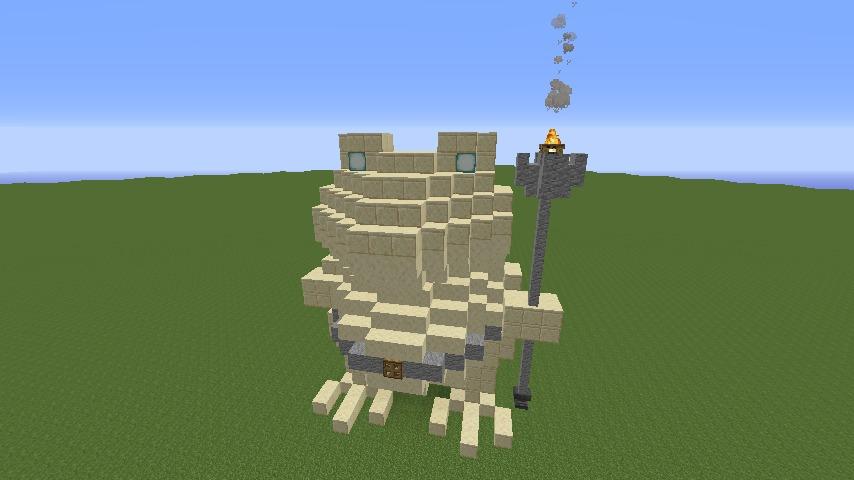 Minecrafterししゃもがマインクラフトで首里城の御内原つくるよ6