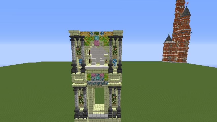 Minecrafterししゃもがマインクラフトで遺跡にありそうな壁を作る4