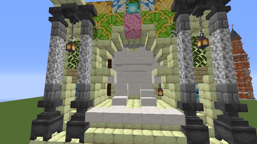Minecrafterししゃもがマインクラフトで遺跡にありそうな壁を作る5
