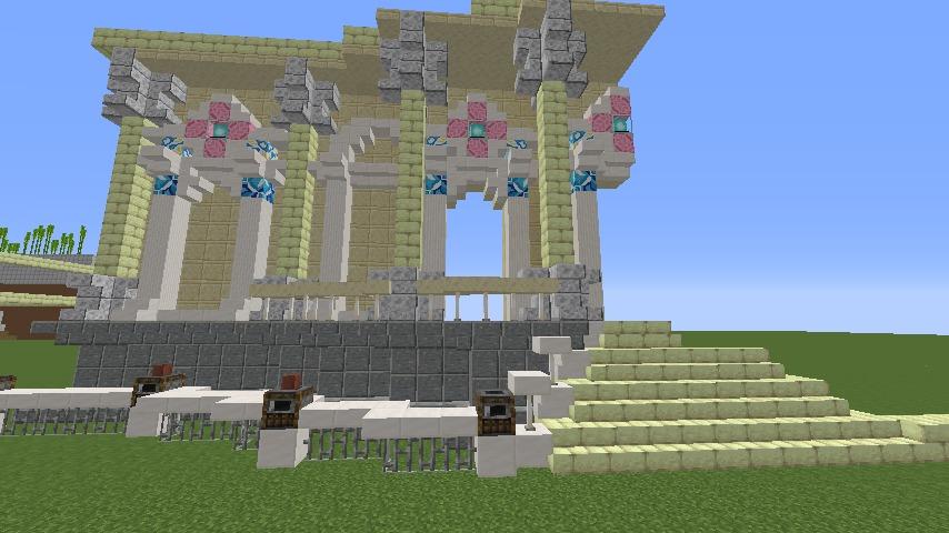 Minecrafterししゃもがマインクラフトでぷっこ村に、地下遺跡にありそうな遺構を作る4