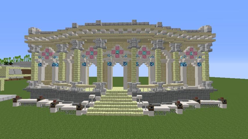 Minecrafterししゃもがマインクラフトでぷっこ村に、地下遺跡にありそうな遺構を作る5