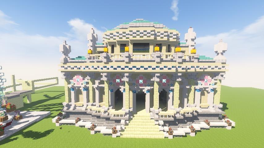 Minecrafterししゃもがマインクラフトでぷっこ村に、地下遺跡にありそうな遺構を作る11