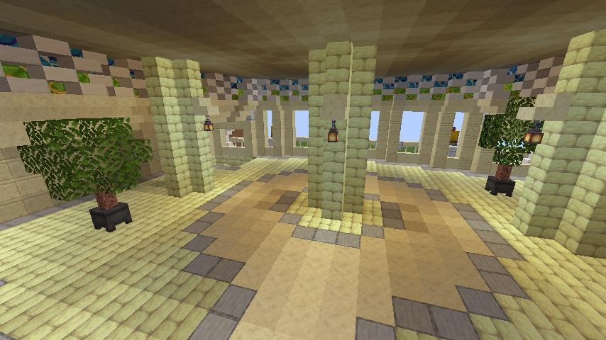 Minecrafterししゃもがマインクラフトでぷっこ村に、地下遺跡にありそうな遺構を作る9