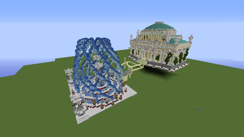 Minecrafterししゃもがマインクラフトでぷっこ村に、地下遺跡にありそうな遺構を作る10