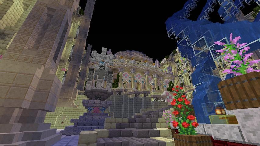 Minecrafterししゃもがマインクラフトでぷっこ村に遺跡っぽいのをつくる4