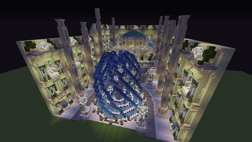 Minecrafterししゃもがマインクラフトでぷっこ村に遺跡っぽいのをつくる3