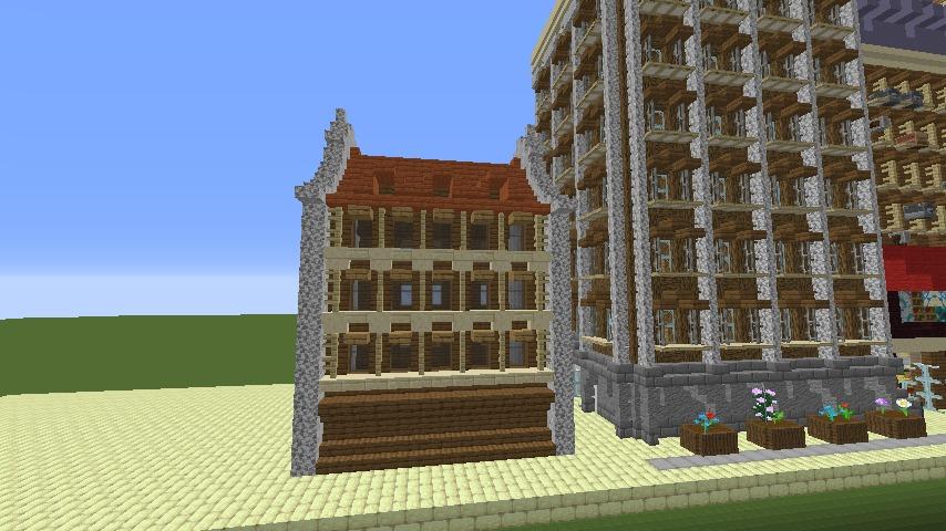 Minecrafterししゃもがマインクラフトで空中都市プコサヴィルを作るよ2