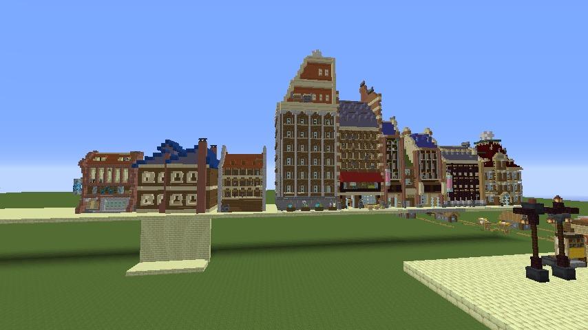 Minecrafterししゃもがマインクラフトで空中都市プコサヴィルを作るよ6