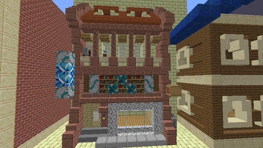 Minecrafterししゃもがマインクラフトで空中都市プコサヴィルを作るよ5