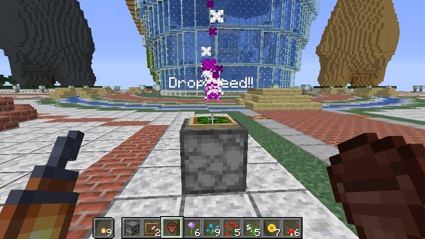 Minecrafterししゃもが作った初のデータパックBloomingを紹介するよ7