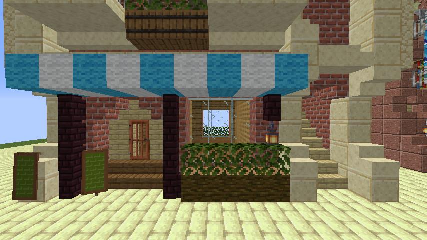 Minecrafterししゃもがマインクラフトで空中都市プコサヴィルのビルを作る2